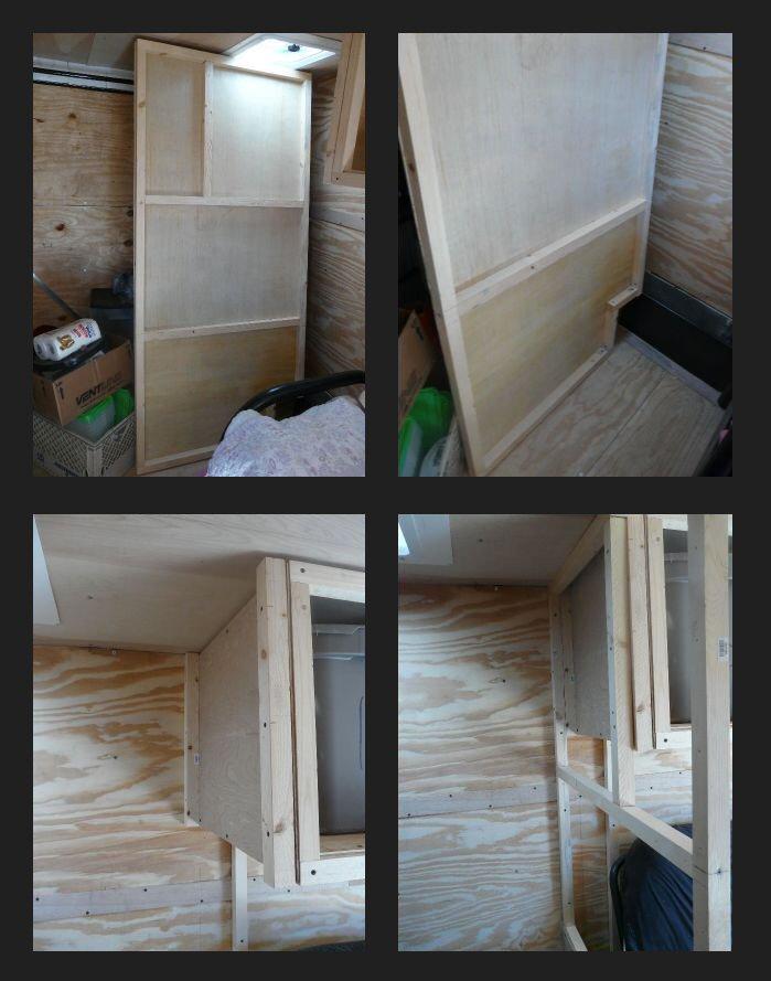 Lighting Basement Washroom Stairs: My Stealth Cargo Trailer: Framing The Bathroom Walls