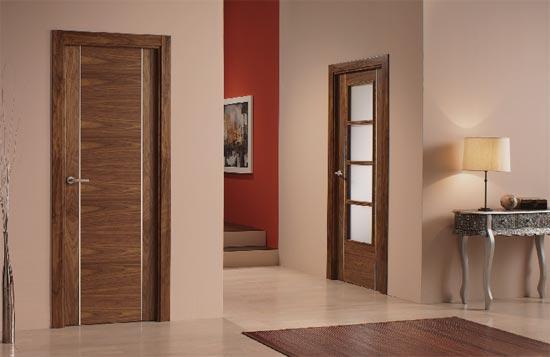 Homenjoy puertas for Puertas de madera interiores modernas