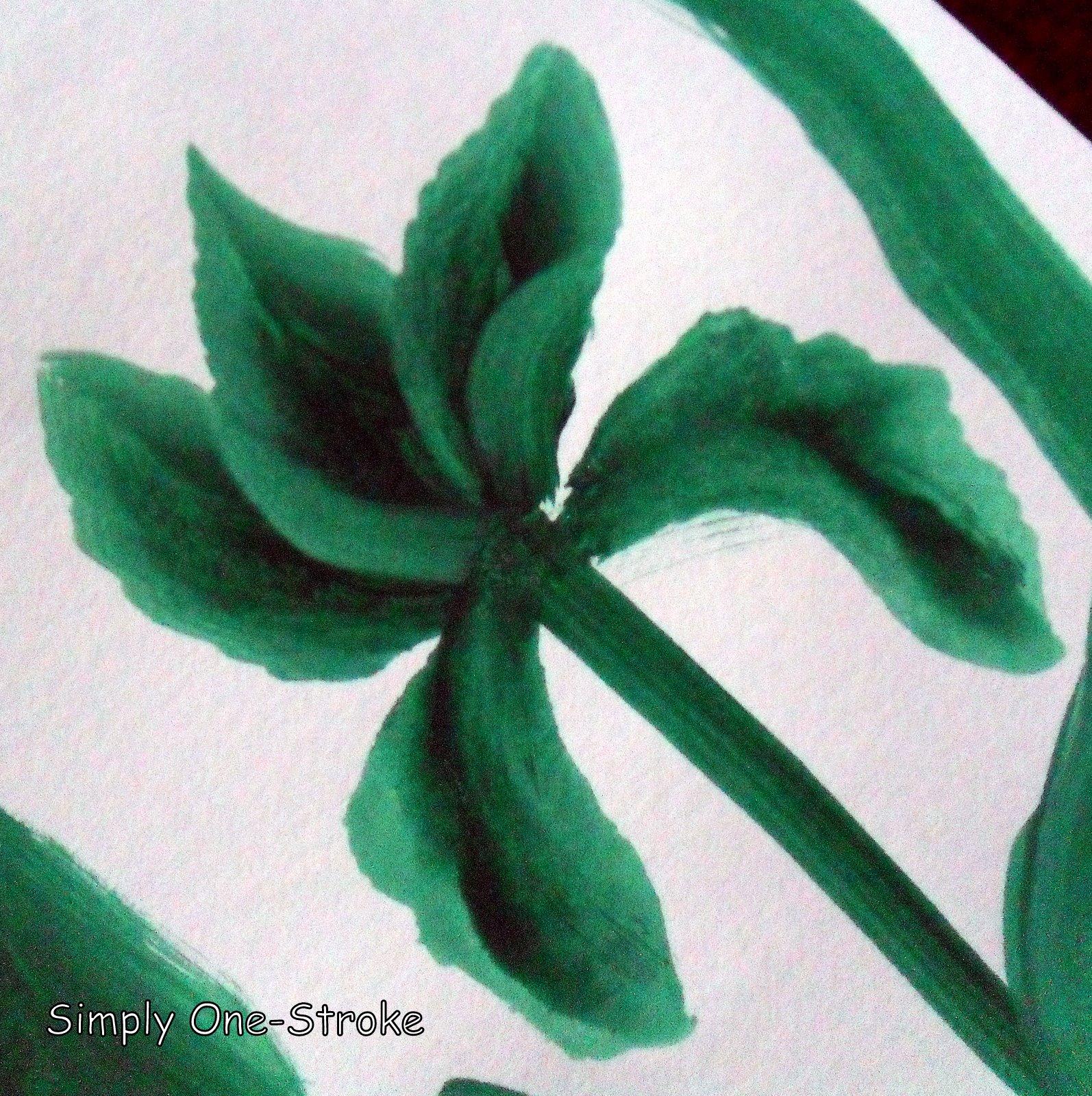 Simply One Stroke My Flowers