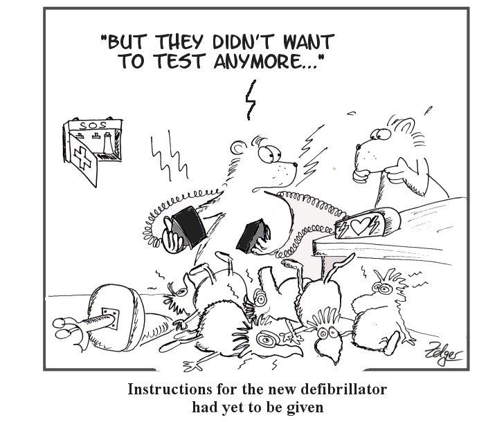 Simply the Test: Defibrillator
