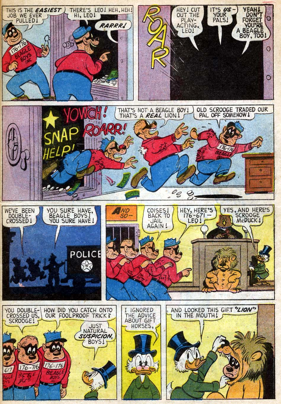 Read online Uncle Scrooge (1953) comic -  Issue #35 - 33