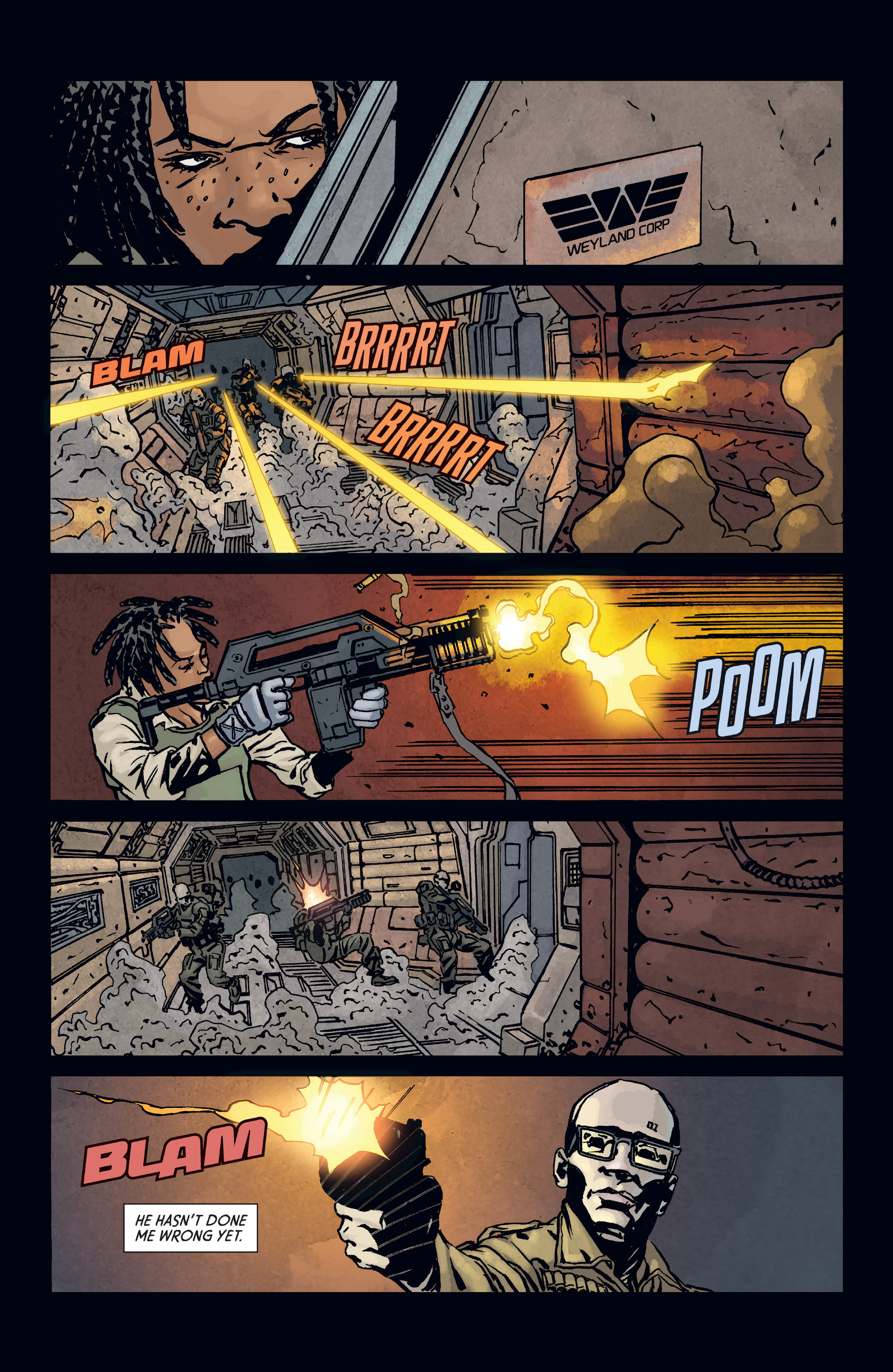 Read online Aliens: Defiance comic -  Issue #3 - 12