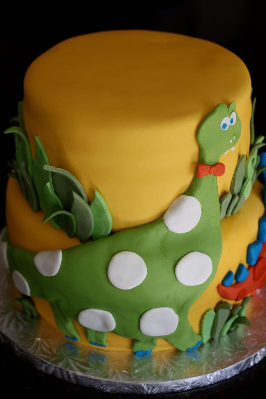 Baker S Cakes Dinosaur Birthday Cake