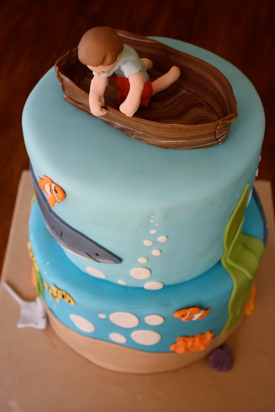 Baker S Cakes Under The Sea Birthday Cake