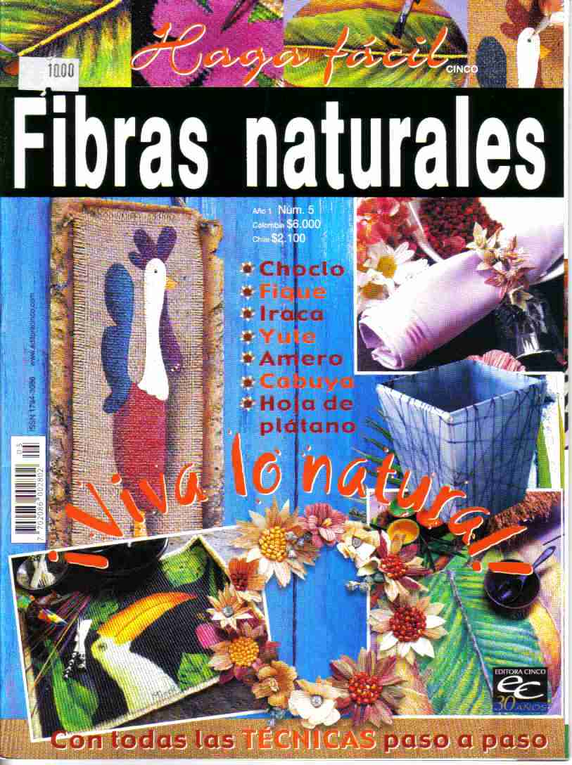 Revista: Fibras naturales No. 5