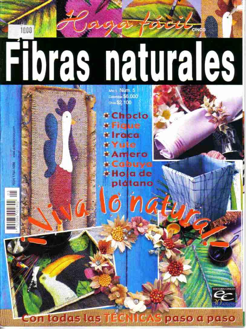 Revista: Fibras naturales No. 5