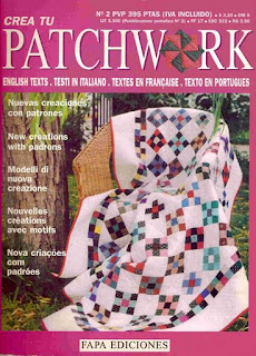 Revista: Crea tu Patchwork No. 2