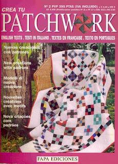 Revista: Crea tu Patchwork No. 2