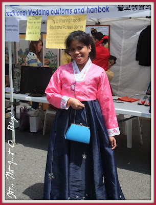 Wearing Hanbok for the first time