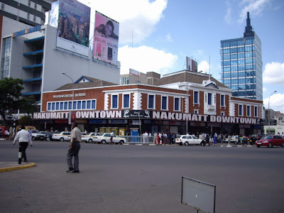 Nakumatt Downtown; the good days