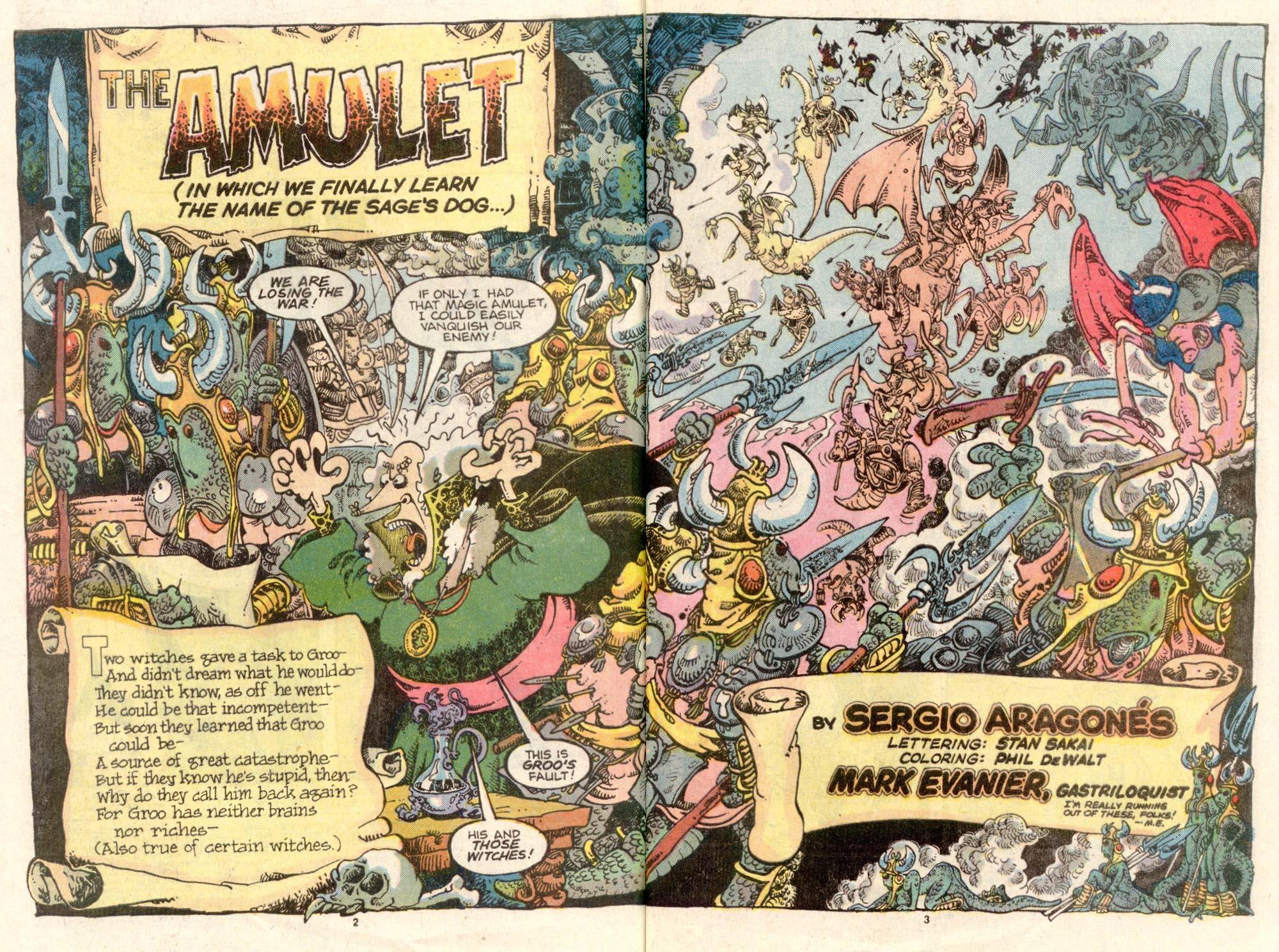 Read online Sergio Aragonés Groo the Wanderer comic -  Issue #34 - 3