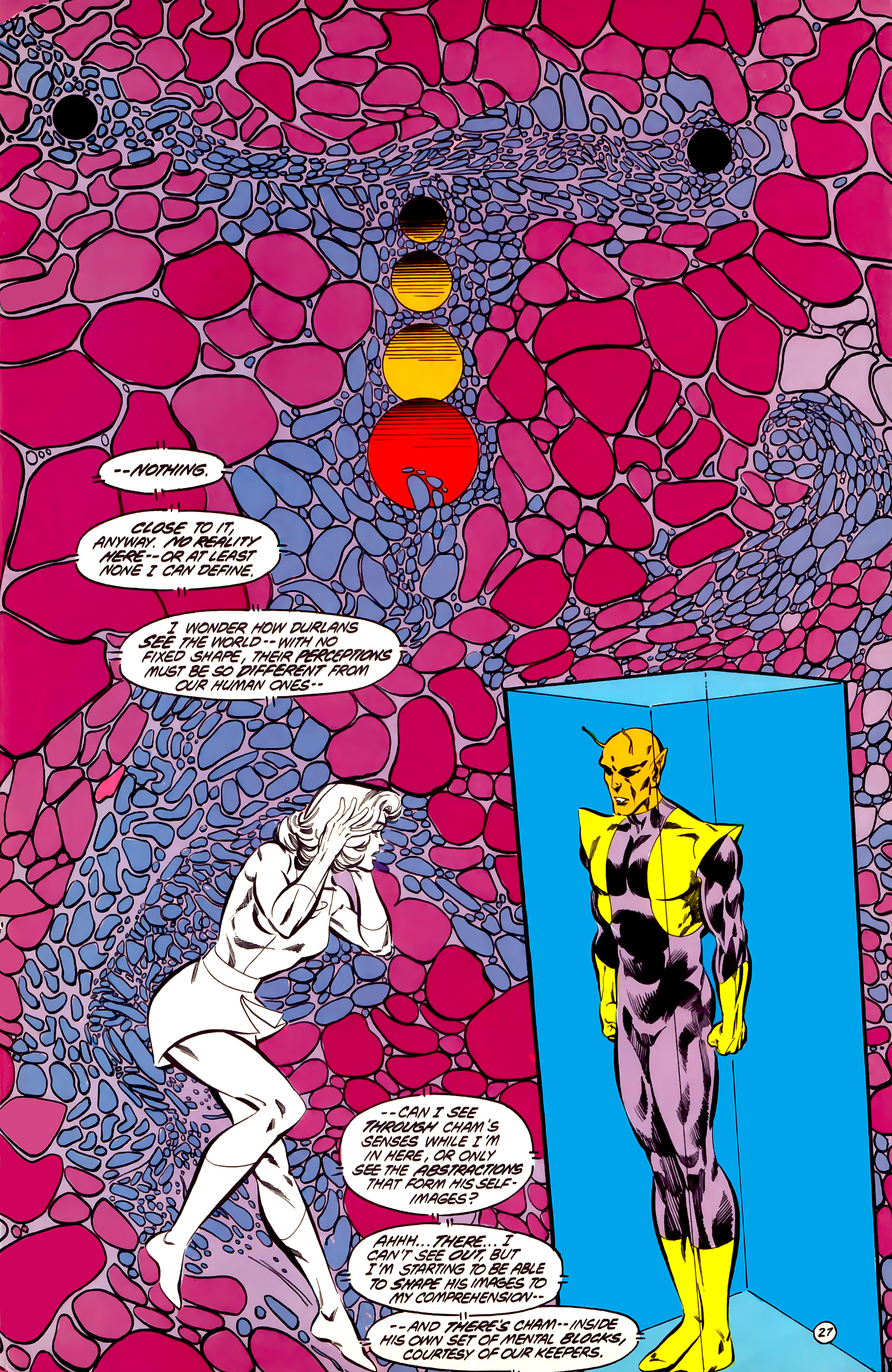 Legion of Super-Heroes (1984) 32 Page 26