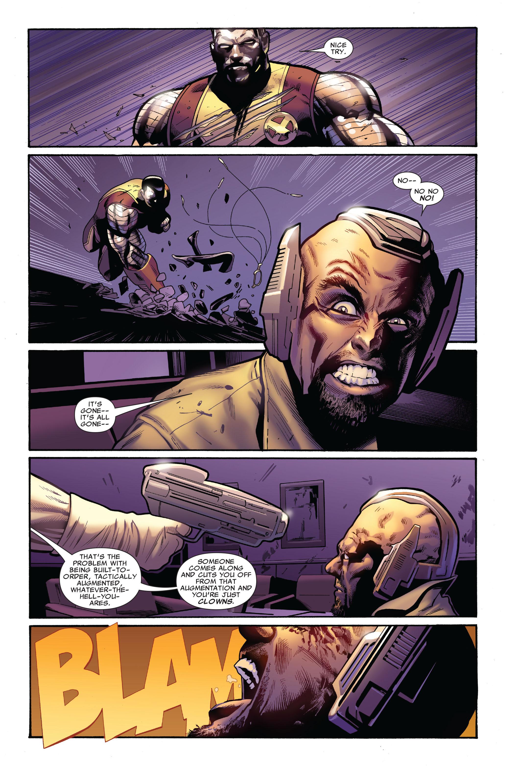 Read online Uncanny X-Men (1963) comic -  Issue #521 - 14