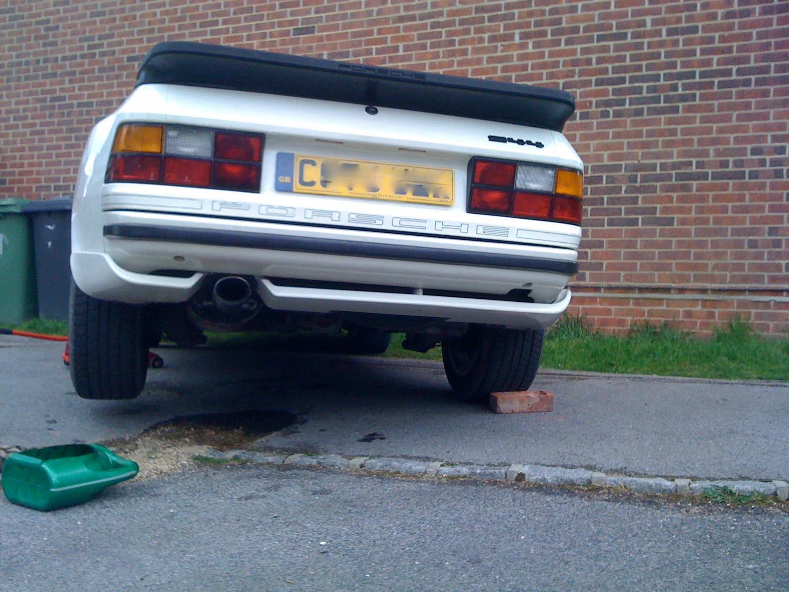 Porsche 944 oil capacity