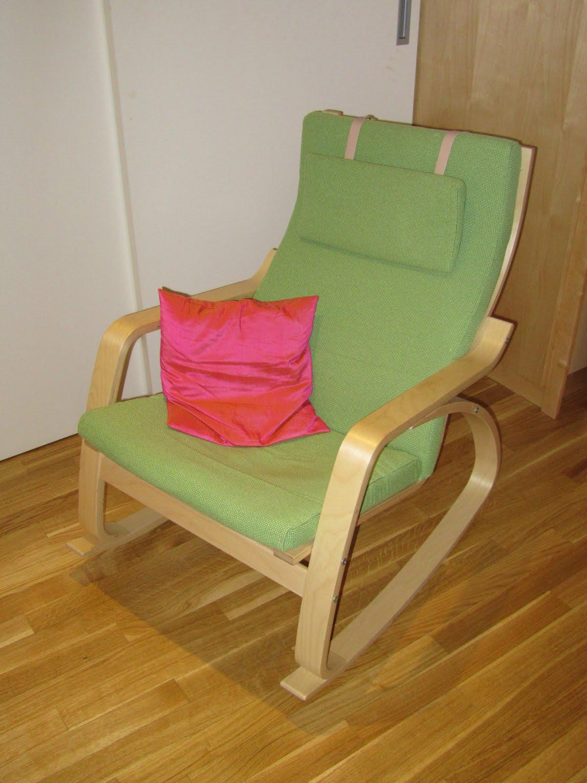 Farewell Vienna Ikea Rocking Chair Leiner Swirl Pattern