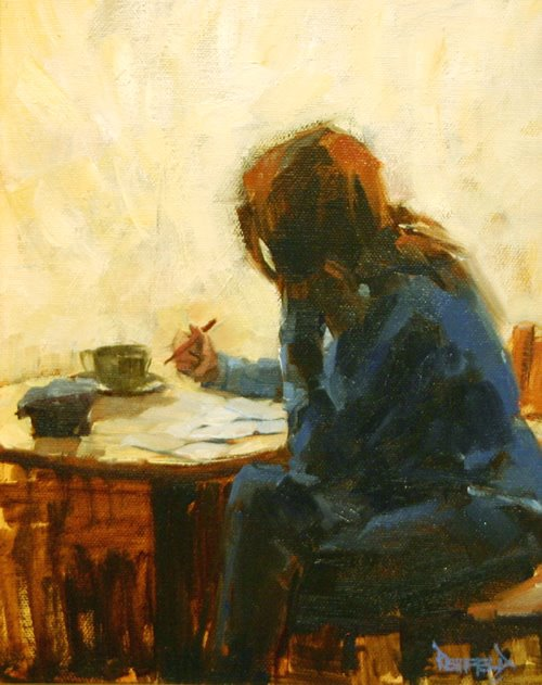 Image result for writer paintings