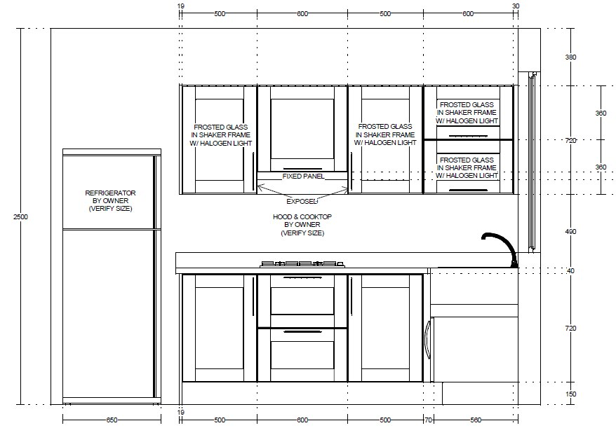 Kitchen Cabinet Construction Details