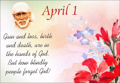 Shirdi Sai Speaks - Teachings for April