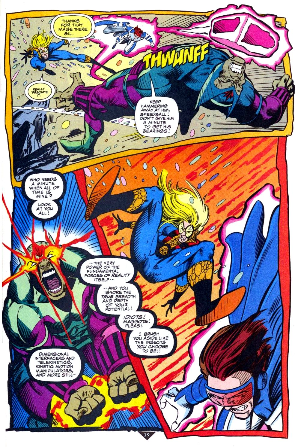The New Warriors Issue #50 #54 - English 22