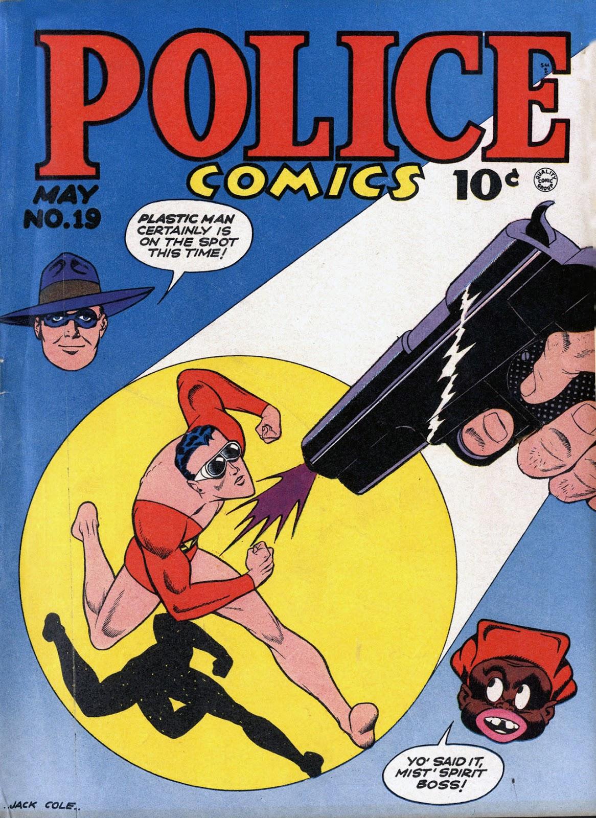 Police Comics 19 Page 1