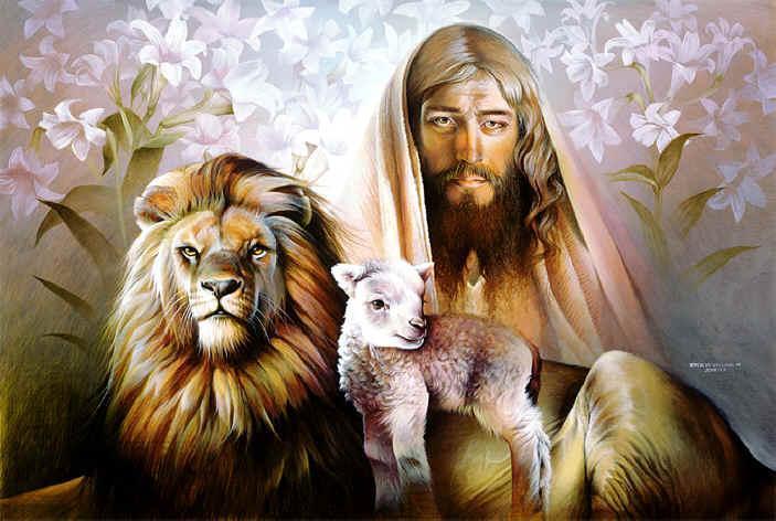 blessings winter. Jezus