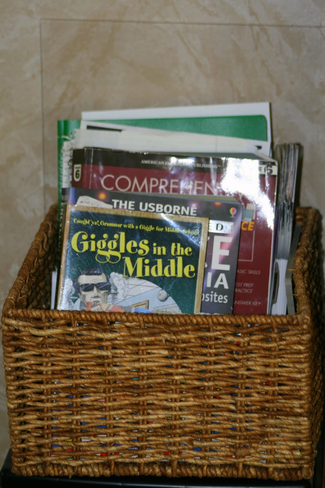 SusieQTpies Cafe: Get Homeschool Organized