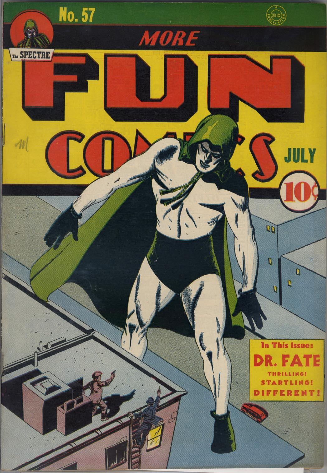 More Fun Comics 57 Page 1