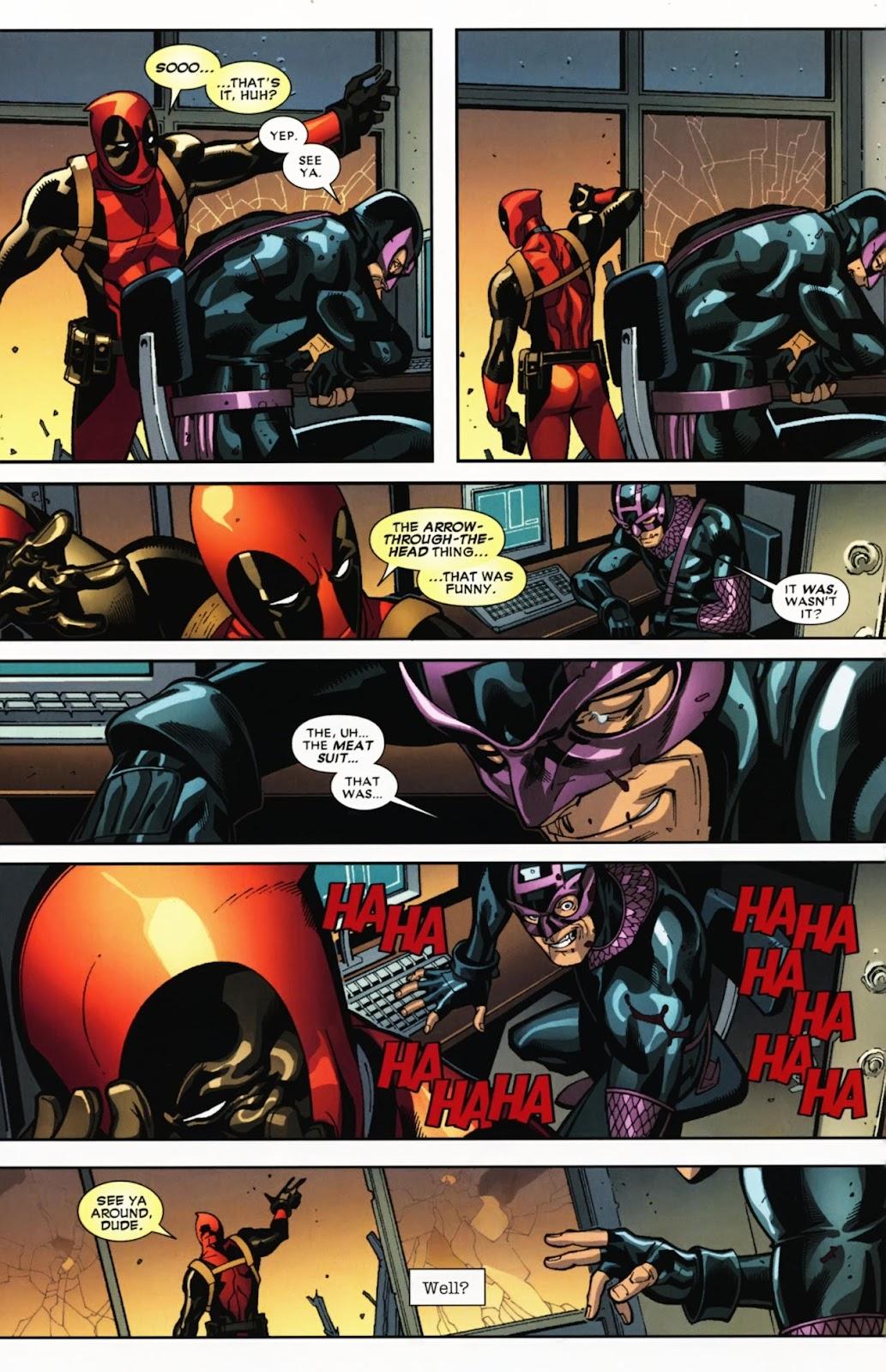 Read online Deadpool (2008) comic -  Issue #12 - 22