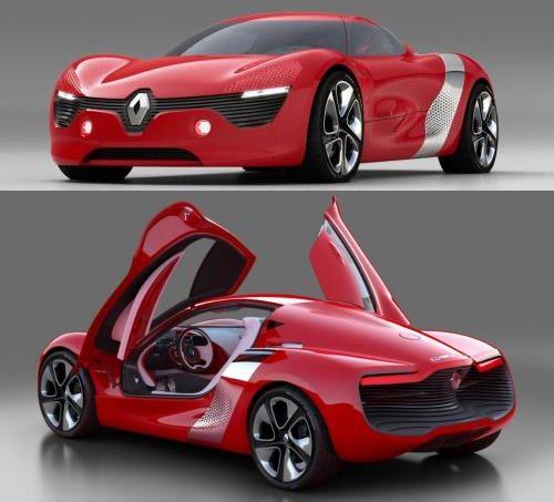 Renault Concept Car: Renault DeZir Concept