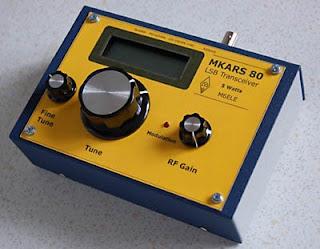 G0KYA's Amateur Radio Blog: MKARS 80 LSB QRP transceiver