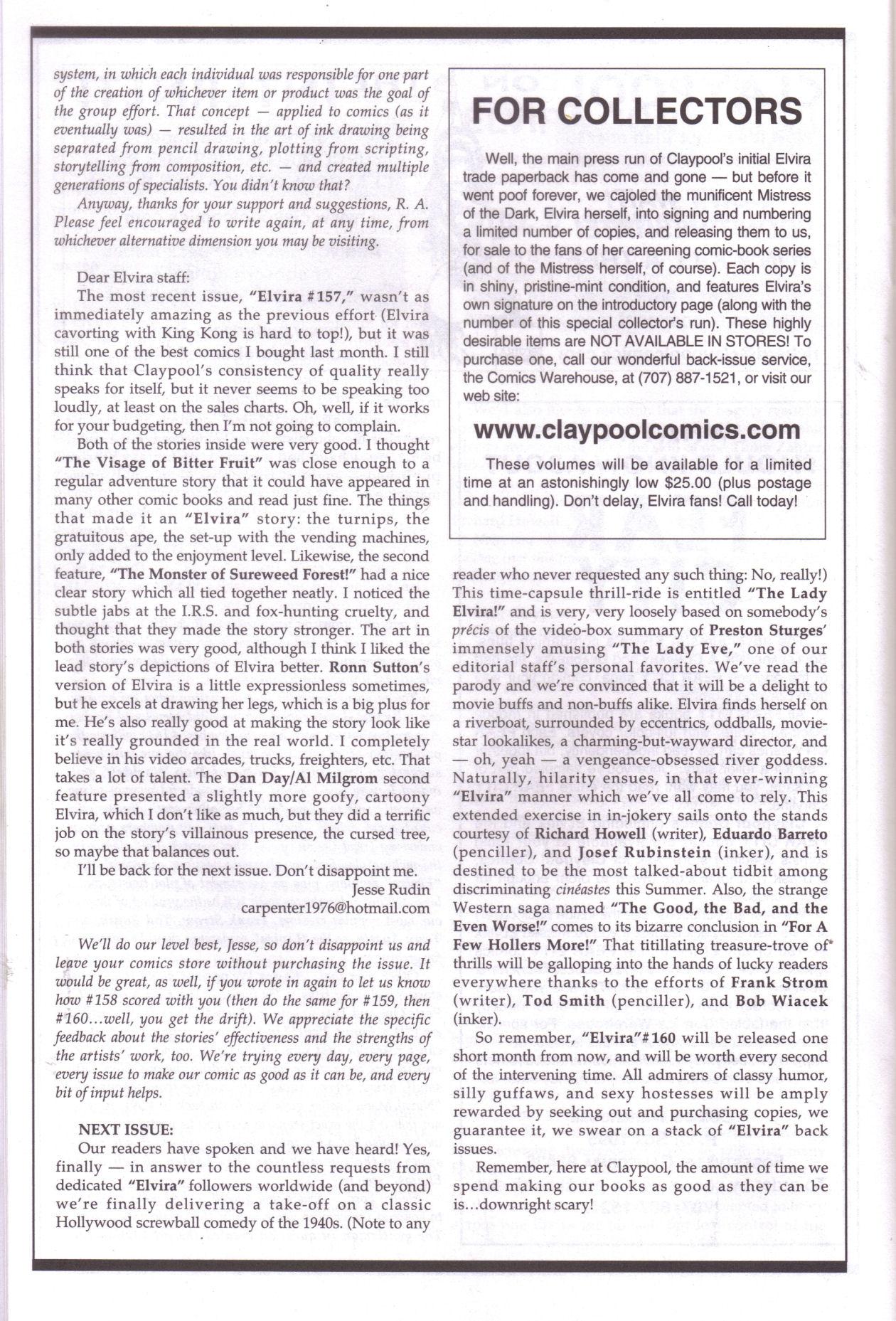 Read online Elvira, Mistress of the Dark comic -  Issue #159 - 22