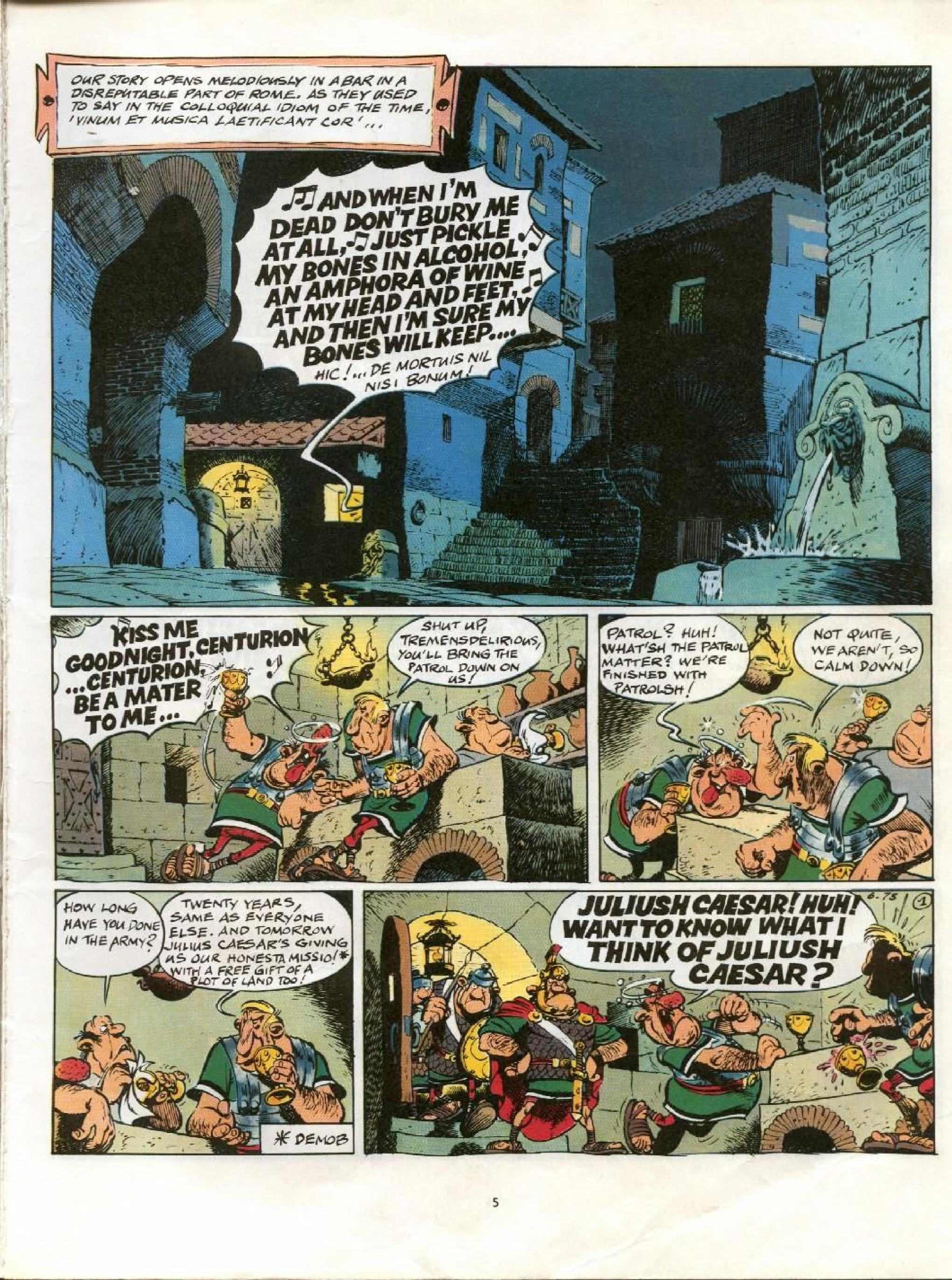 Read online Asterix comic -  Issue #21 - 2