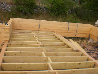 autoconstruction massif de notre maison en bois le. Black Bedroom Furniture Sets. Home Design Ideas