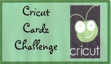 I was a winner at Cricut Cardz Challenge!