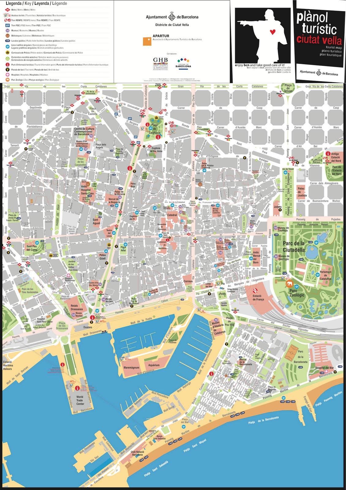 detail bcn tourist map barcelona20