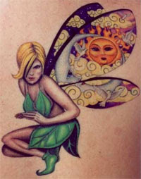 fairy tattoos idea