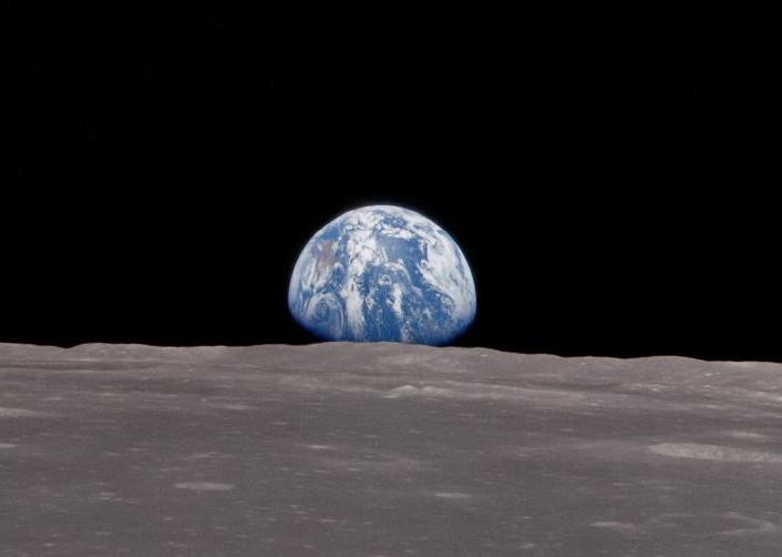 earth from moon apollo - photo #5