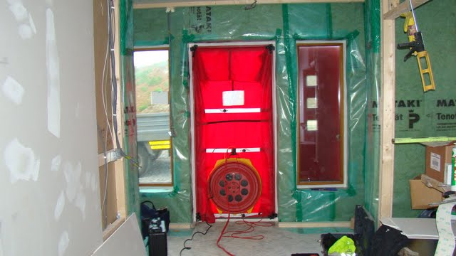 A Scandinavian Passive House In Galway Air Permeability