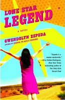 Blog Tour Review (and Guest Post) of Lone Star Legend by Gwendolyn Zepeda
