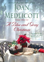 Blog Tour: A Blue and Gray Christmas by Joan Medlicott