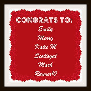 [Blogaversary Giveaway Day #15] Winners!