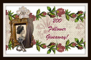 [GIVEAWAY] 200 Follower Giveaway!