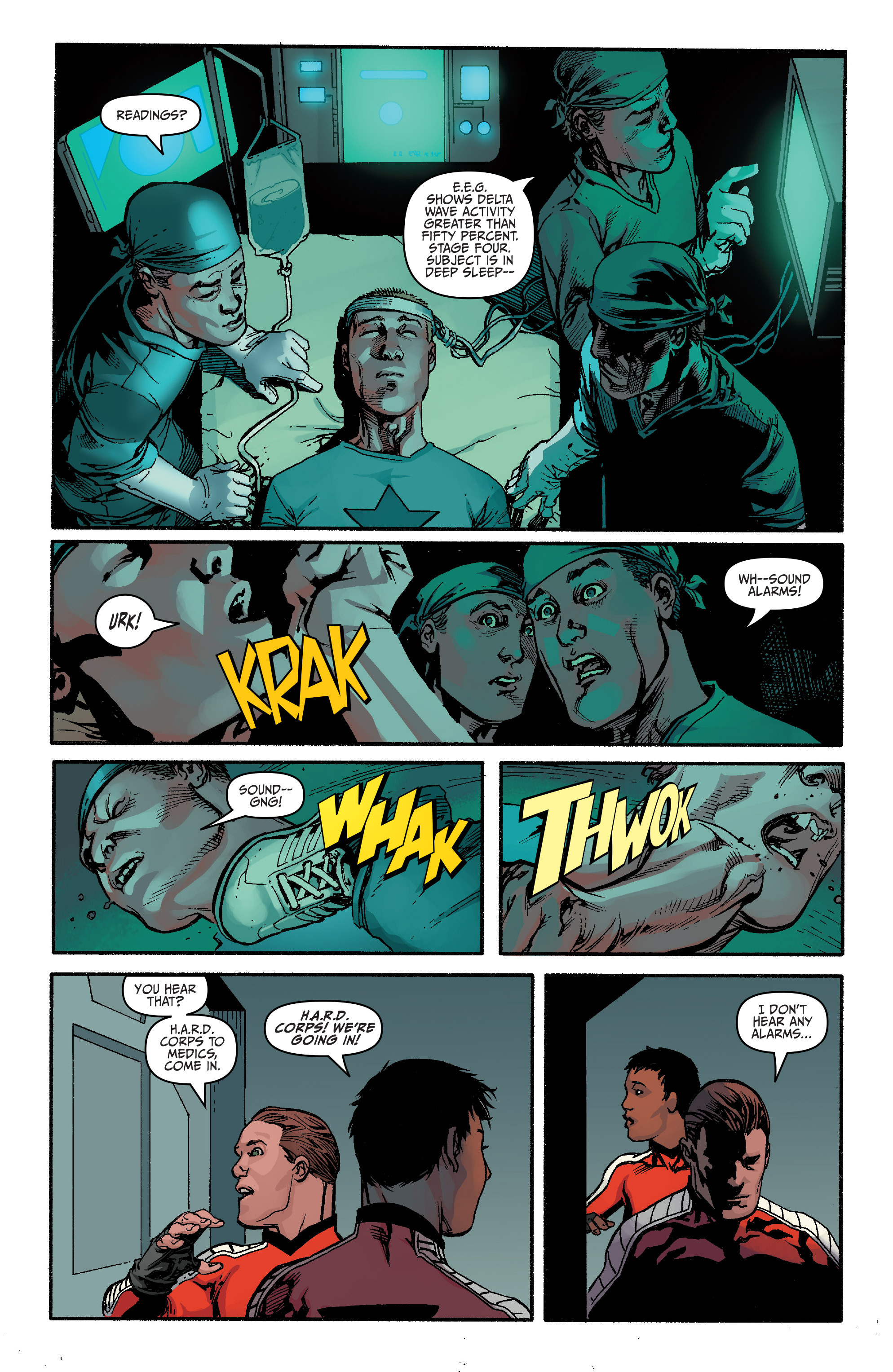 Read online Bloodshot and H.A.R.D.Corps comic -  Issue #20 - 20