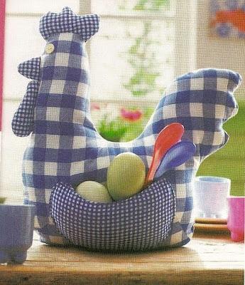 Lindas gallinas de tela lodijoella - Telas de cocina ...