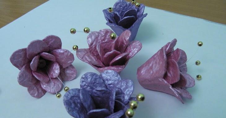 Como hacer flores con material reciclado lodijoella for Como construir pileta de material
