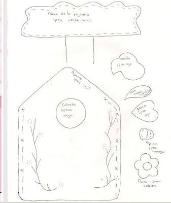 Manualidades para la cocina en fieltro lodijoella for Moldes de cocina