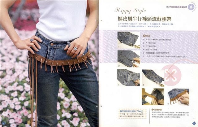 Recicla tus jeans con estas estupendas ideas