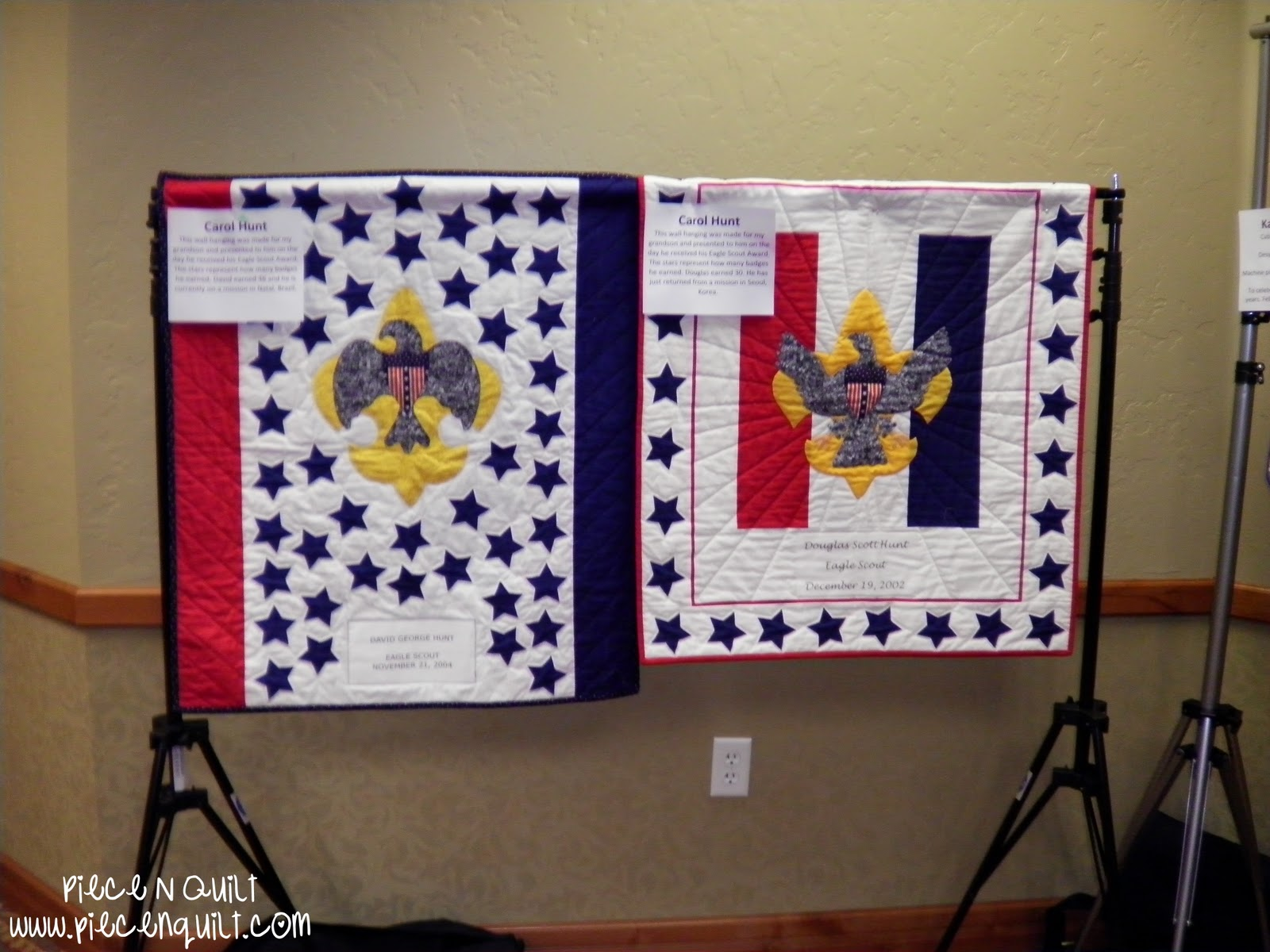 Piece N Quilt Boy Scouts Of America Quilt Display