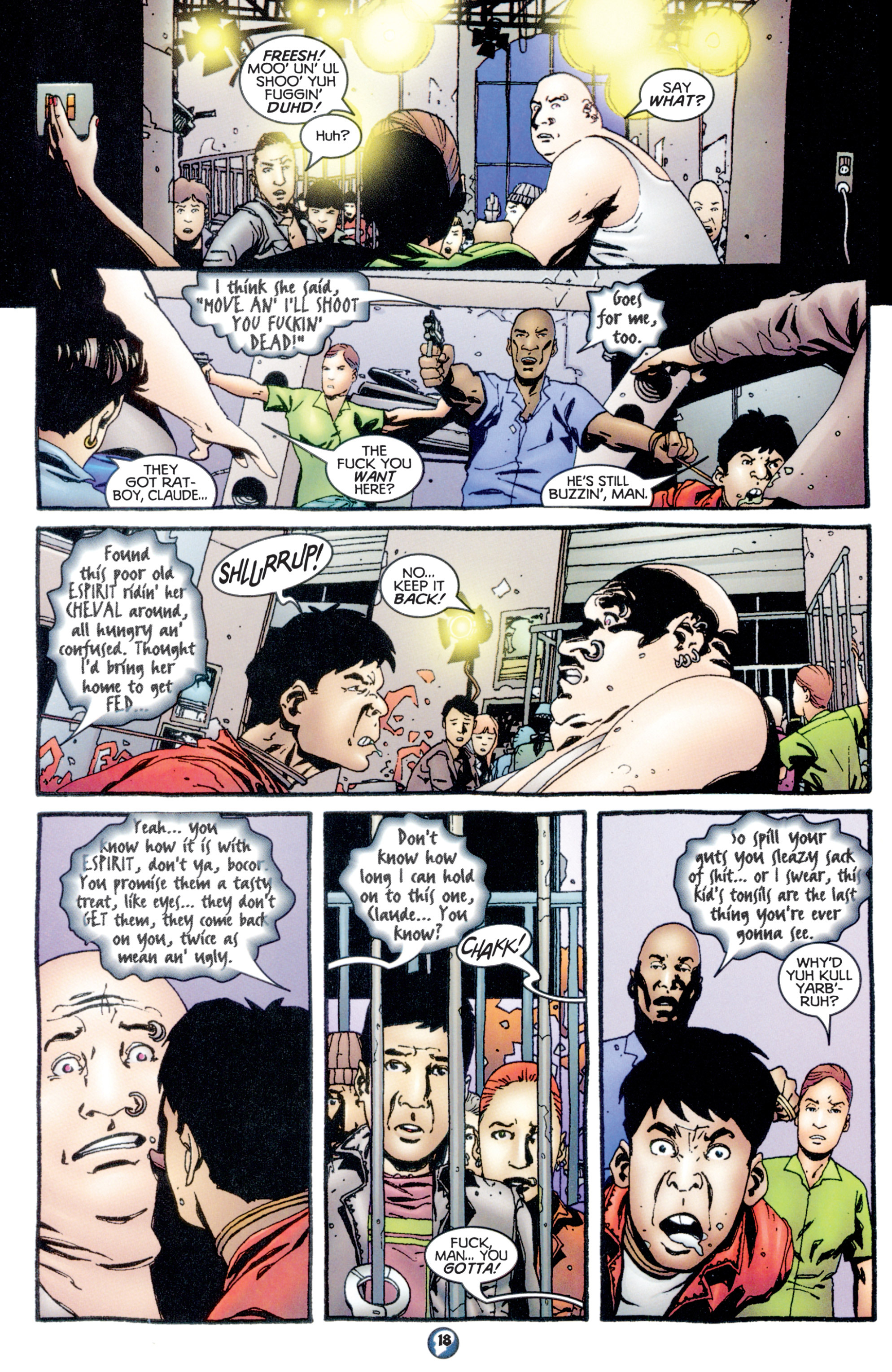 Read online Shadowman (1997) comic -  Issue #10 - 15