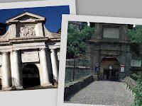Bergamo - Città Alta - Le porte di accesso alla città antica
